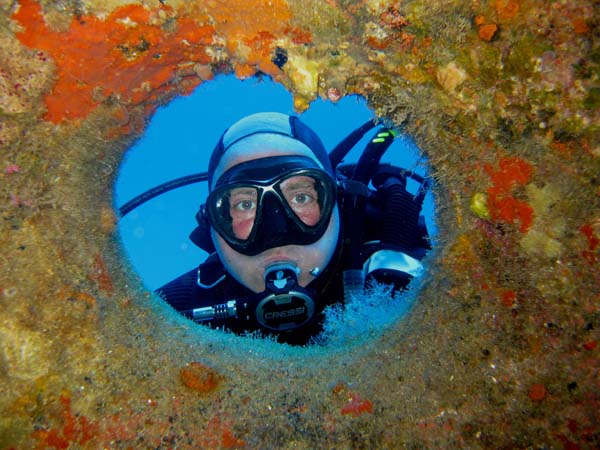 Wreck diving in Malta with Kent Scuba