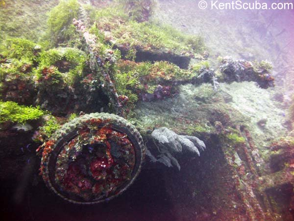 S.S. Nippo Maru wreck dive with Kent Scuba