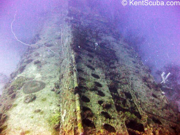 I-169 submarine wreck dive with Kent Scuba