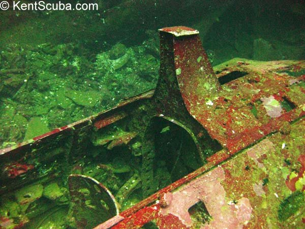 Japanese Zero wreck dive with Kent Scuba
