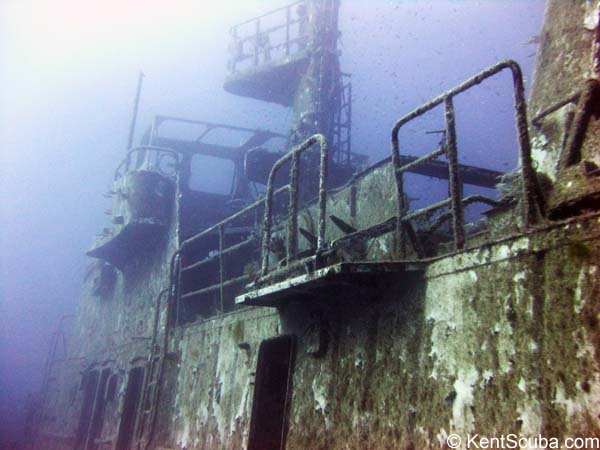 P29 wreck dive with Kent Scuba