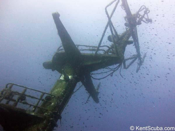 P29 wreck dive with Kent Scuba