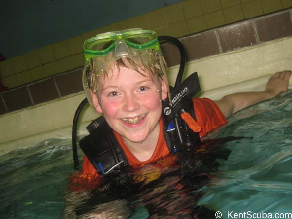 Shrimps Club – scuba activities for 8yrs+