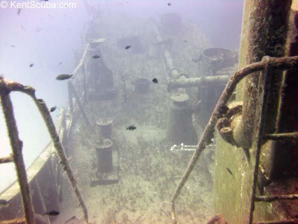 Um El Faroud wreck dive with Kent Scuba