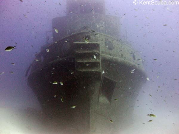 Rozi wreck dive in Malta with Kent Scuba