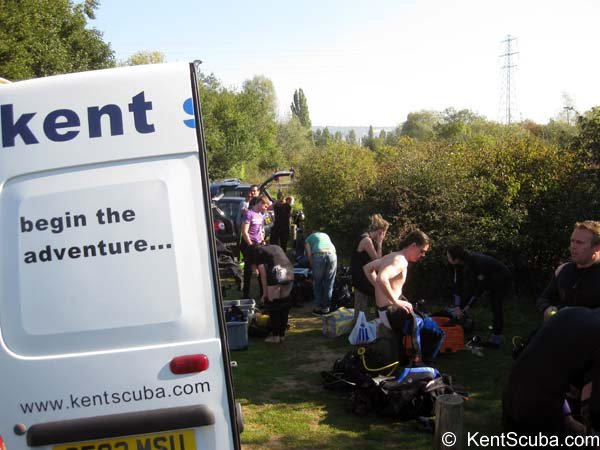 Diving at Leybourne Lakes with Kent Scuba